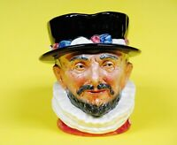 Royal Doulton Character Or Toby Mug Beefeaters  Hand made & hand Decorated.