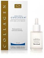 Salcoll Collagen Natural Eye Lips Serum Anti Aging Wrinkle Hypoallergenic 15 ml