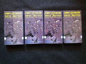 Combat Customizing the 1911 Auto 4 VHS set Wilson's Pistolsmiths videos 460 min.