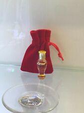 DIOR Miss Dior Pure Perfume Parfum Baccarat mini crystal bottle Vintage 1940's