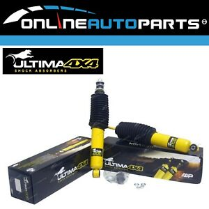 2 Front Gas Shock Absorbers fit Nissan Datsun 520 620 720 Ute 2x4 4x4 Pickup New