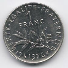 France : 1 Franc 1976