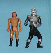 vintage Battlestar Galactica CYLON (broken) + STARBUCK action figure lot