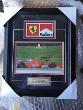 Ferrari Signed Michael Schumacher Large OEM Card