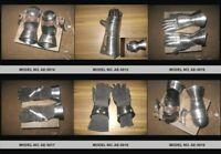 Medieval Gauntlets Perfect Armour Gloves (6 set) for Historical Re-enactments