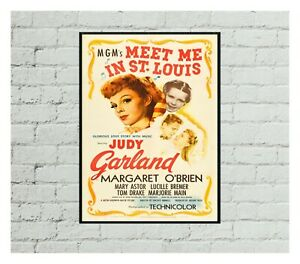 Meet Me In St. Louis Movie Poster 0457 poster, Movie Poster, Home Decor, Fan Art