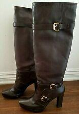Stuart Weitzman 'Biker' Boot Boots size 40, US 9, Brown
