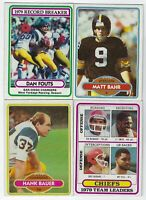 1980 Topps Football 1st Part #1-200 Complete Your Set - You Pick!
