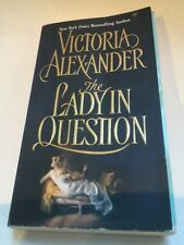 The Lady in Question Victoria Alexander Author Signed Copy Book