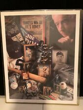 Joe DiMaggio Limited Edition LITHOGRAPH by David M Spindel Authentic 208/5,000