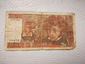 France billet 10 francs 1975 Berlioz '0573010470