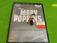 Mary Poppins 50th Anniversary Edition DVD / Digital Copy NEW Sealed ~ FREE SHIP