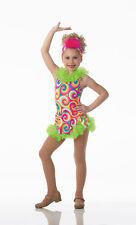 Island Girl Dance Costume Leo Skirt w/Headpiece Clearance Clearance Adult Large