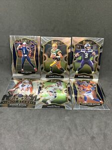 2020 Select Football Lot (6) Russell Wilson Rodgers Newton Mack INVEST