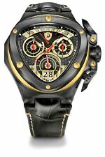 Tonino Lamborghini Chronograph Watch Black PVD Spyder 3012