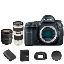 Canon 5D Mark IV DSLR Camera Body + EF 24-70mm f/4L IS USM + 70-200mm f/4L USM