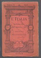COMANDINI-L'ITALIA NEI CENTO ANNI DEL SECOLO XIX ANNO 1851-DISPENSA 56 VALLARDI