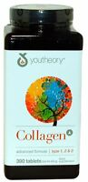 Collagen Youtheory Advanced Formula Vitamins 390 Tablets  - FREE POST