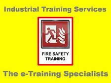 Fire Safety and Risk Management Safety Training Course Materials