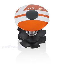 """XLC A-Head Plug 1 1/8"""" naranja tapa abdeck tipo impositivo garra top cap gabelkralle"""