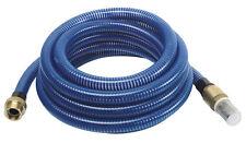 Tuyau aspiration annelée pour pompe à eau 7 mètres diam 30 mm raccord laiton PRO