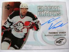 05-06 UD ICE GLACIAL GRAPHS, THOMAS VANEK,C.GG-TV, MINT, WHAT A SUPER STAR