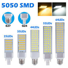 G24 E27 5-13W 5050SMD LED LUZ DE MAIZ HORIZONTAL LÁMPARA DE TECHO DOWNLIGHT 088