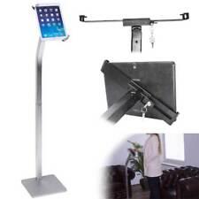 Abschließbare Tablet Metall Bodenständer Halterung Halter Holder iPad Samsung Si