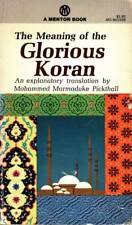 MEANING OF THE GLORIOUS KORAN MOHAMMED MARMADUKE PICKHALL