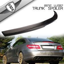 10-17 Mercedes Benz C207 W207 Coupe 2Dr Carbon Fiber Trunk Lip Spoiler