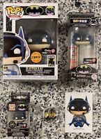 "Funko POP! ""Batman (Gamer) CHASE #294"", DC GameStop Exclusive Mystery Box, NEW"