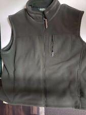 Army Green Eddie Bauer XXL 100% Polyester Vest