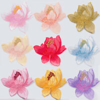 3D Embroidery Flower Sew Iron On Patch DIY Badge Clothes Fabric Applique Patch