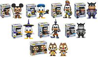FUNKO POP Disney Series: Kingdom Hearts VINYL POP FIGURES CHOOSE YORS!