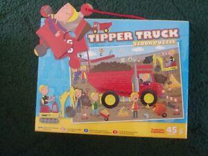 Grafix Big Red Tipper Truck Floor Puzzle 45 Piece