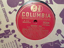 COLUMBIA 78 RECORD/GENE KRUPA/LOVE TO CALL YOU SWEETHEART/DRUMMIN' MAN/ EX