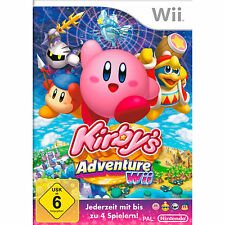 Kirby's Adventure Wii (Nintendo Wii, 2011, DVD-Box)