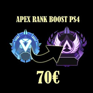 [APEX/PS4/FR] BOOST RANK DIAMANT-MAITRE