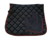A//P Ruby U-1603 Full Back On Track Nights Collection Saddle Pad