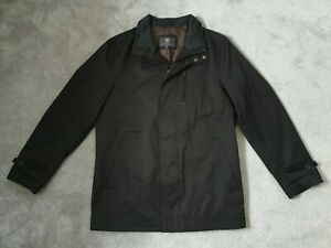 Marks & Spencer Mens Black Harrington Jacket Coat - Size S