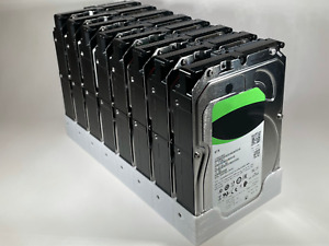 """Hard Drive Rack Holder Cage Case Caddy for Chia Farming 8x 3.5"""" HDD"""
