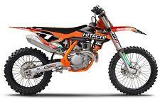 Hitachi ASA KTM Graphics kit SX SXF 2016 - 2018 EXC 2017 - 2018 MXGP Motocross