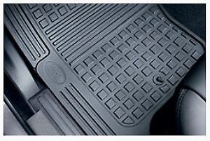 Genuine Land Rover Discovery 3 Rubber Floor Mat Set (2005-09) 1ST & 2ND ROW ONLY