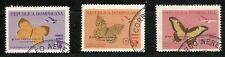 DOMINICAN REP. 1966, Hurricane Ines surcharge  Scott no. CB28-CB30