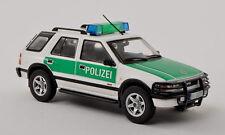 "wonderful police-modelcar OPEL FRONTERA B ""POLIZEI""  1999 - white/  - scale 1/43"