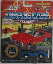 Johnny Lightning -'72/1972 Chevy Nova SS azul nuevo/en el embalaje original