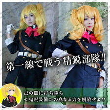 Owari no Seraph Seraph of the End Mitsuba Sangu Military Uniform Cosplay Costume