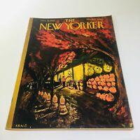 The New Yorker: Oct 18 1958 - Full Magazine/Theme Cover Robert Kraus