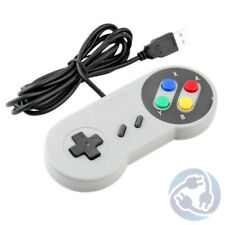 SNES Super Nintendo Style USB Controller Gamepad for PC / MAC / WIndows / Linux