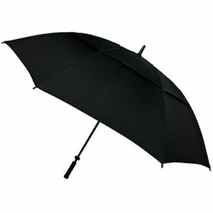 GUSTBUSTER PRO GOLF GOLD SERIES DOUBLE CANOPY GOLF UMBRELLA